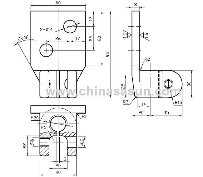 Transformer copper wiring board