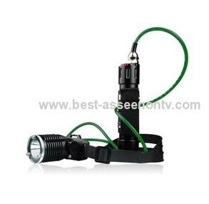 New CREE T6 1800Lm LED Diving Flashlight Torch Lamp Waterproof Scuba Under Water Light, handlight nightlight