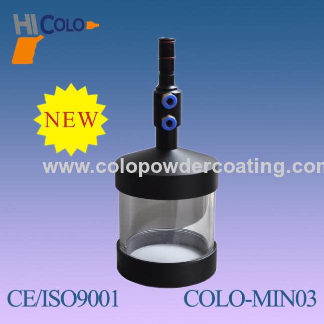 Manual Cup-Feed Powder Coating Unit