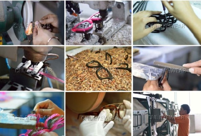 Handmade design your own sunglasses frames for women