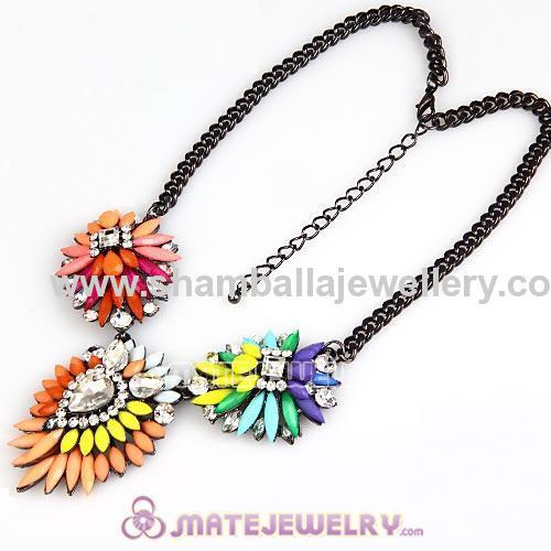shourouk jewelry fashion flower choker Necklace