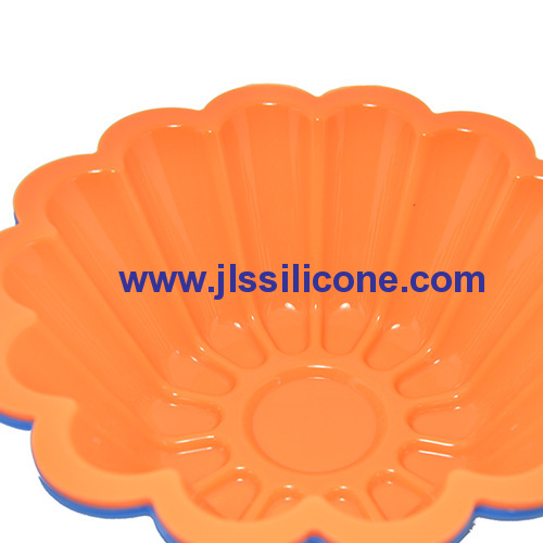 new arriveal! flower shape silicone pie baking pans