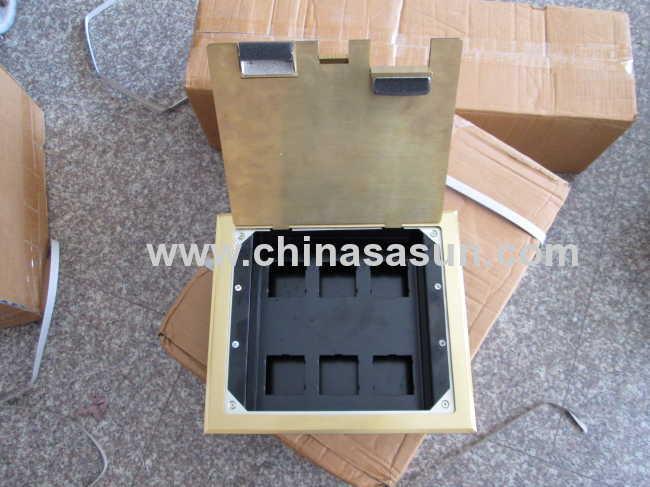 Multifunctional Electrical Underground Power Socket / Floor Plug Receptacle