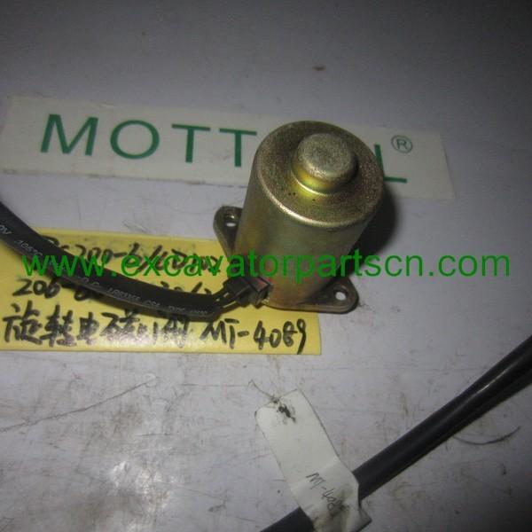 EXCAVATORPC200-6/6D102 206-60-51130 Swing motor solenoid valve