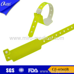 Id wristband with promotion