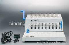 office electric comb binder