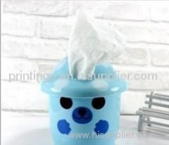 Heat transfer film for tissue box