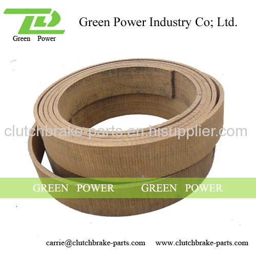 Woven Brake Lining Material : Woven resin brake lining roll manufacturer from china
