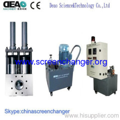 double pillar screen changer for chemical fiber extrusion line