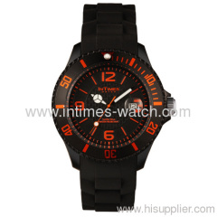 2013 china watches Intimes 44mm for men Japan movt plastic case 5ATM