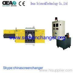 new continuous screen changer for foaming products extrusion lines