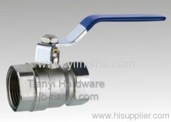 "1/2"" ~ 4"" Manual Brass Blue Handle Two General Formula Hard Seal Thread Ball valve"