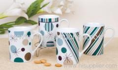 Colorful Promotional Stoneware Mug