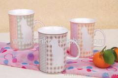 Animal Shape Stoneware Cup