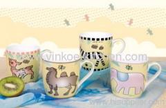 Children Cartoon Stoneware Cup