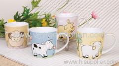 Animal Printing Stoneware Mug