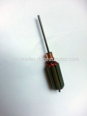 12v auto window motor armature
