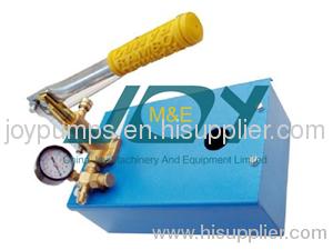 Manual Hydro Pressure Test Pump