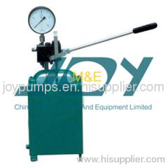 High Pressure Manual Test Pump