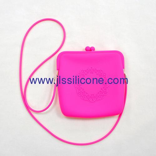 Fashion silicone shopping bag for lady