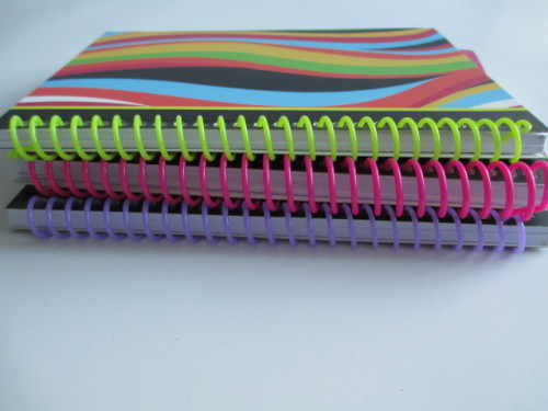 A5 size lined notebook