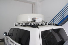 0.72m auto acquire flyaway antenna