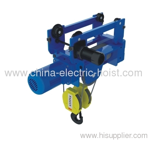 Wire Rope Hoist With Electric Trolley From China