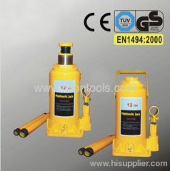 Hydraulic Bottle Jack to EN 1494:2000 with GS 12T
