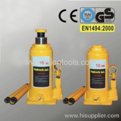 Hydraulic Bottle Jack to EN 1494:2000 with GS 10T