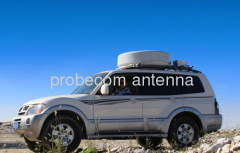 0.65m motorized vehicle mounted antenna