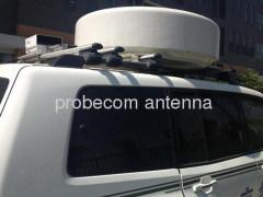 0.9m motorized vehicle mount antenna