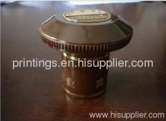 Heat transfer tape for bottle cap