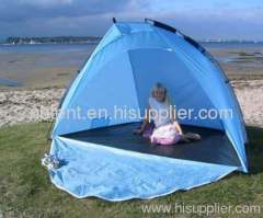 sun shade beach tent with sleeping room