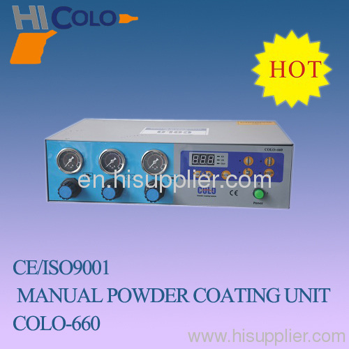 powder coating spray unit
