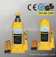 Hydraulic Bottle Jack to EN 1494:2000 with GS 8T