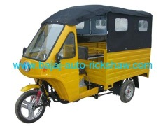 passenger cargo bajaj autorickshaw mobile shop tricycle
