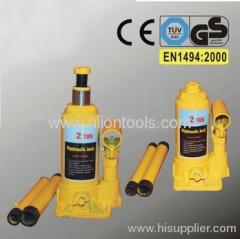 Hydraulic Bottle Jack to EN 1494:2000 with GS 2T