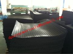 Stud rubber sheet sheet