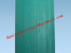 Insulating rubber slab slab
