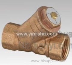 Bronze Swing Strainer Valve