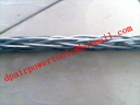 Manufacture anti-twisting braided steel wire rope