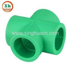 PP-R plastic fittings cross