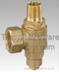 Brass Boiler Valve with Side Outlet