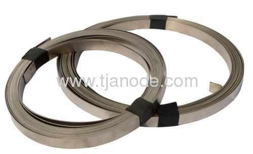 Gr1 ASTM B-265 titanium ribbon anode math with mmo ribbon anode