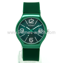 Luxury Watch Intimes brand Swiss Movt. / Aluminum Case (IT-088) 50m water-resistant stainless steel back