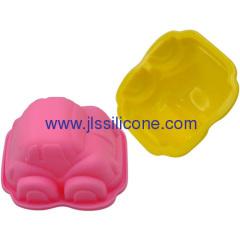 silicone bakeware car shaped cake or desert baking mold
