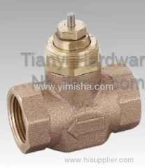YIMISHA Bronze Electric Two Way Valve