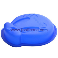 Lovely disney cantoon silicone cake or biscuit baking molds