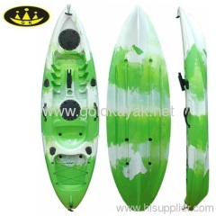 single sit on top fishing kayak whitewater very stable