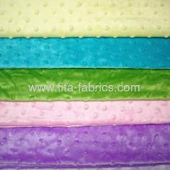 New Design Minky Dot Super Soft Fabric
